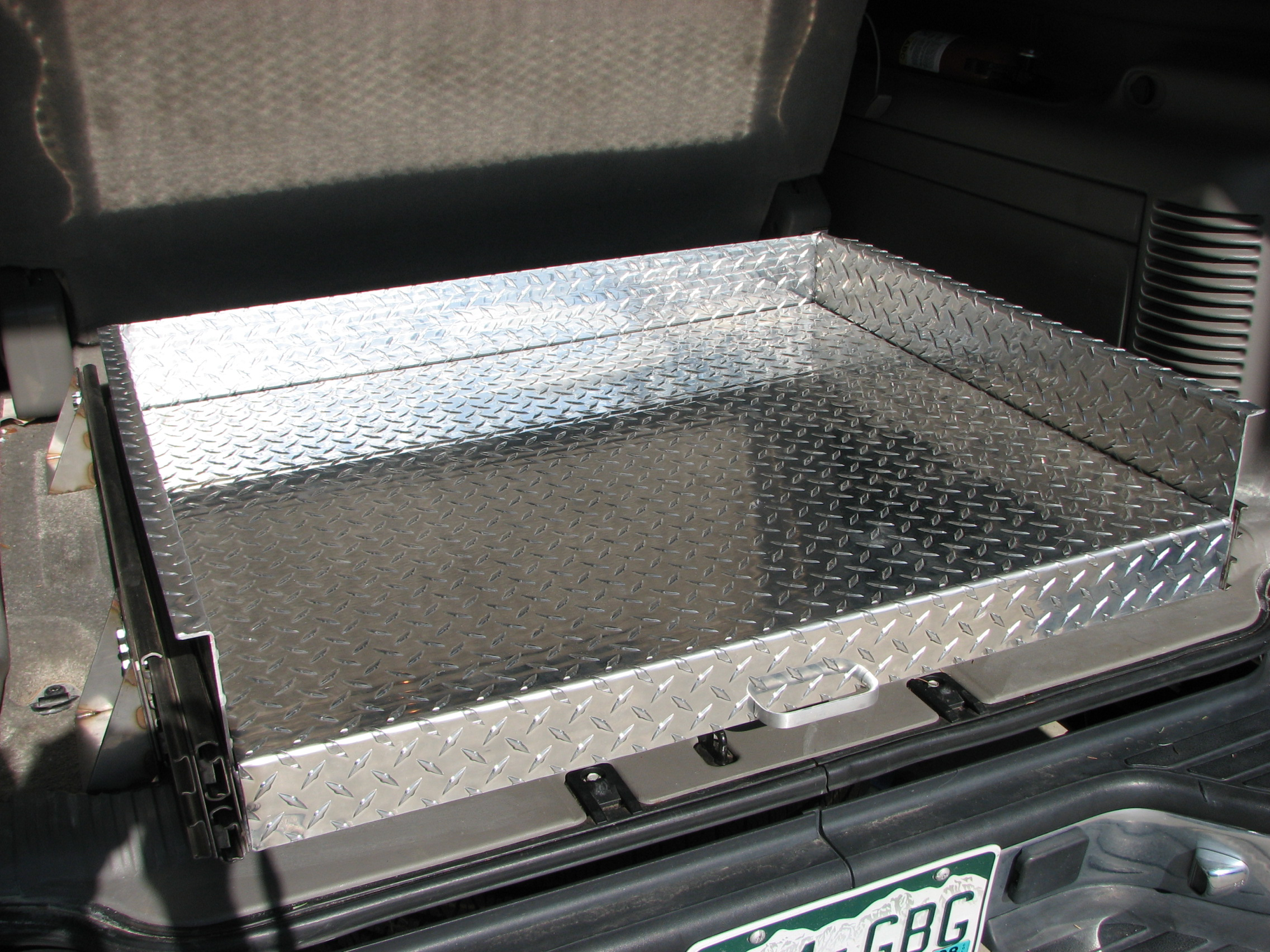 Diy truck bed slide out bing images - Homemade truck bed drawers ...